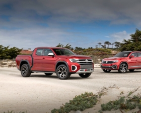Volkswagen представляет Atlas Cross Sport и концепт Atlas Tanoak на Monterey Car Week